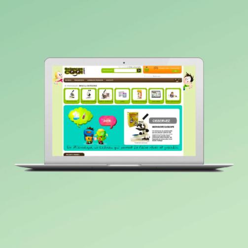 creation-site-e-commerce-prestashop-sciencescool